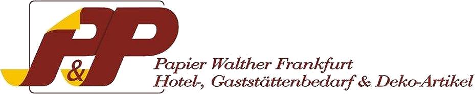 Papier Walther Frankfurt-Logo