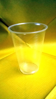 Plastik Becher 0,2 l transparent