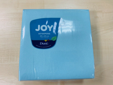 Dunisoft  Joy Servietten 40 x 40 cm Mint Blue