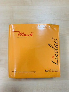 Mank Airlaid Servietten  40 x 40 cm Basic Curry