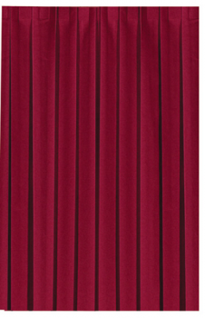Dunicel Tableskirts Skirtings bordeaux